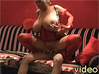 Sex bomb blonde wild fuck