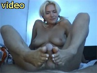 Blonde beauty footjobs handjobs blowjobs