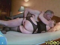 Granny home sex tape