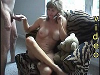 Mature lady loving the cock